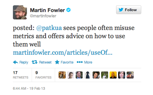 Martin Tweet