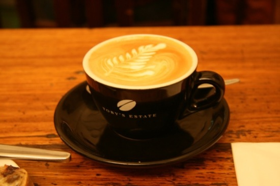 Flat White at Degraves Espresso