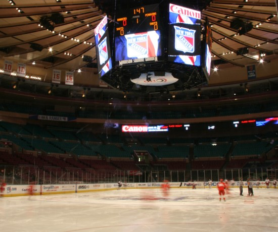 Madison Square Garden Ice Rink