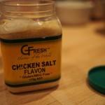 Chicken salt seasoning