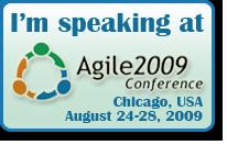 Presenting at Agile 2009