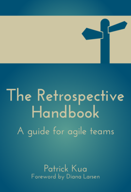 "Book cover of ""The Retrospective Handbook"""