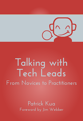 "Book cover of ""Talking With Tech Leads"""