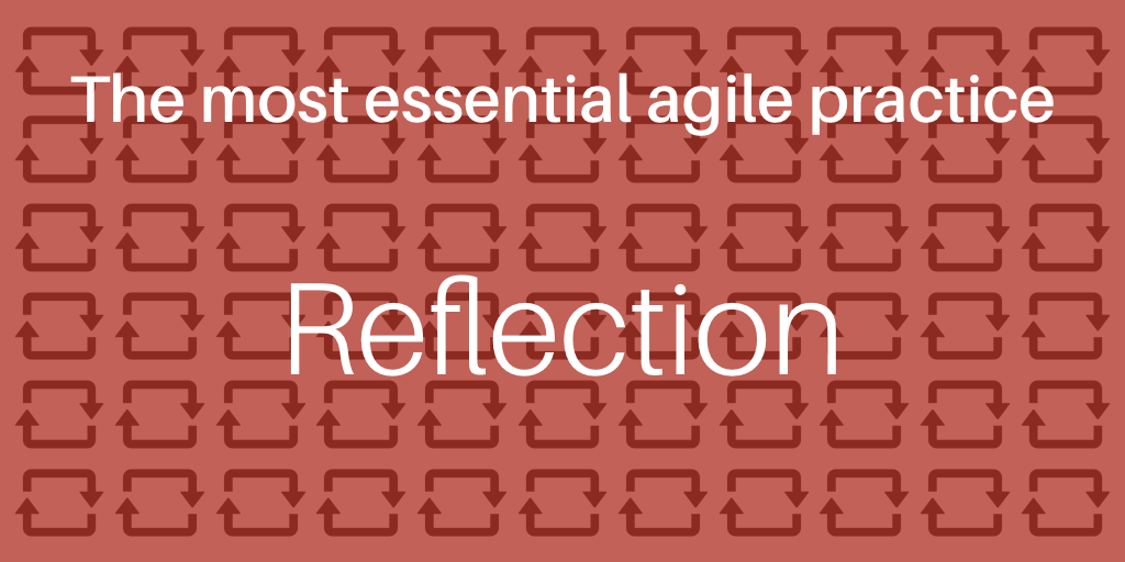 The practice of reflection in action