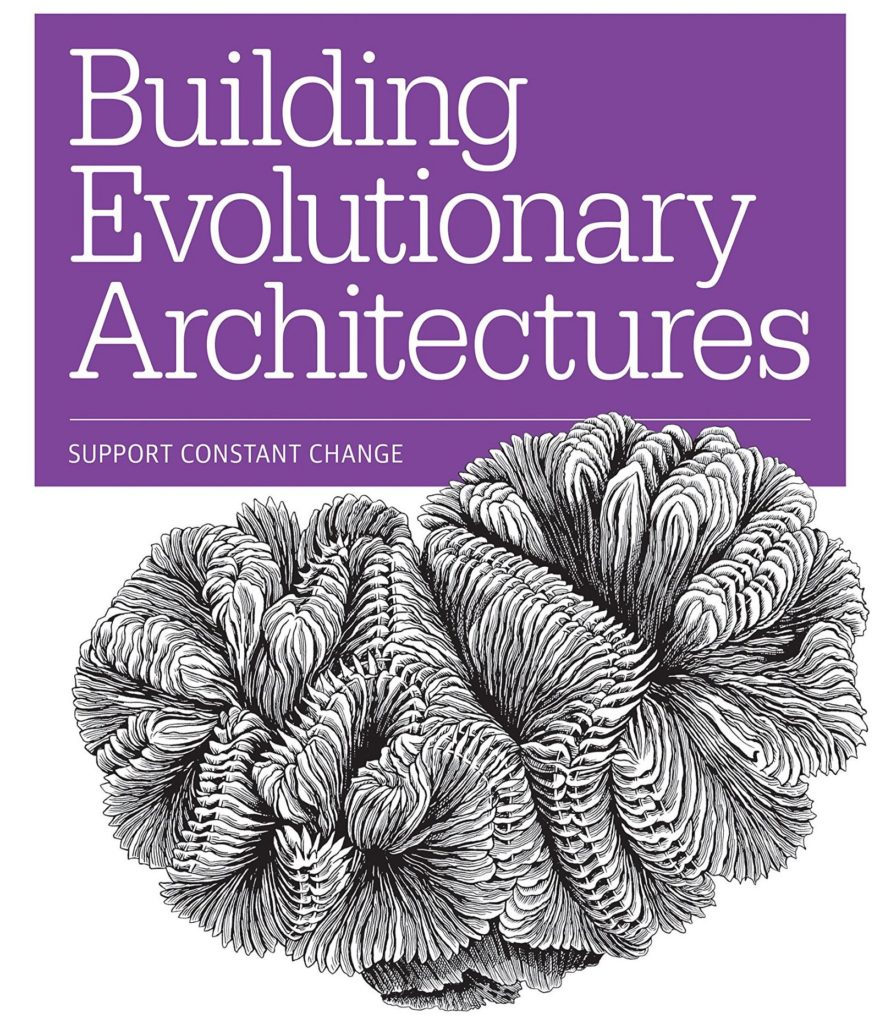 Cover of the Building Evolutionary Architectures book