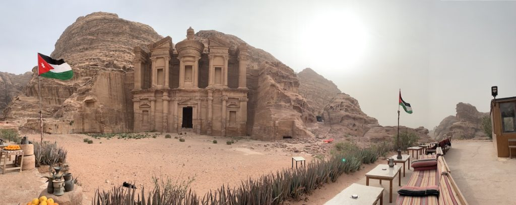 Petra panorama photo
