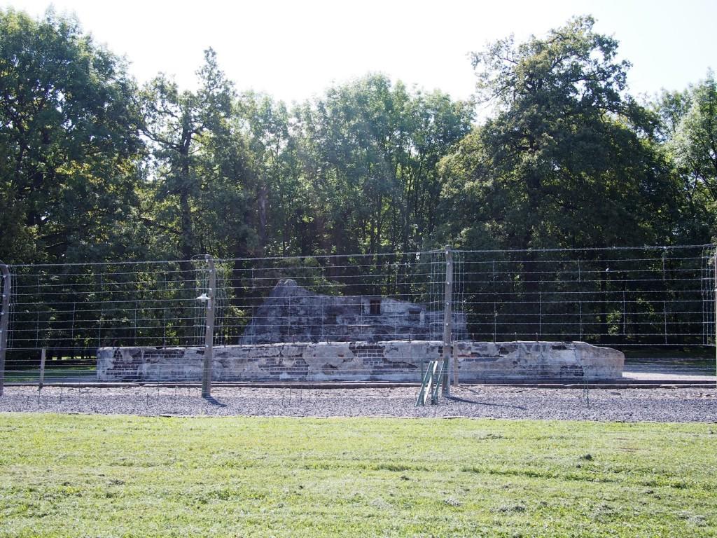 Der ehemalig Tierpark, in dem es Tiere wie Bären gab