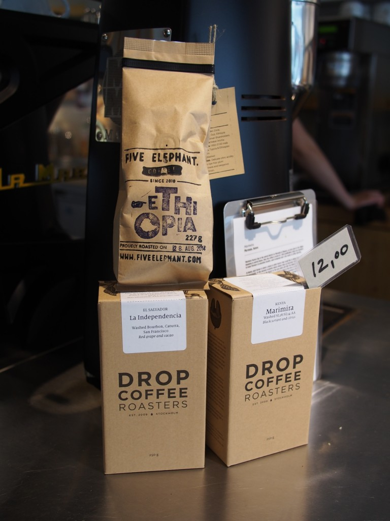 Kaffee von der Five Elephant Kaffeerösterei