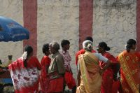 Outside the Laksmi Temple