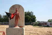Entering Mahabilpuram