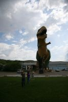 Run from the dinosaur