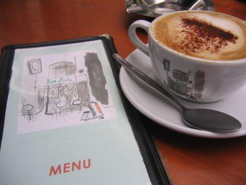 Coffee at Bar Italia