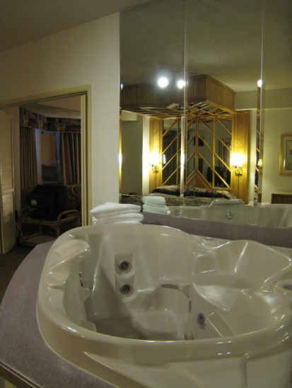 Room with a Jacuzzi