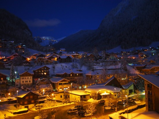Morzine at Night