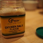 Chicken salt seasoning